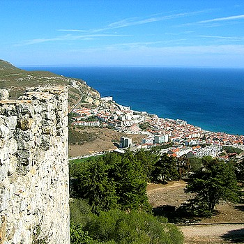Sesimbra from Castle